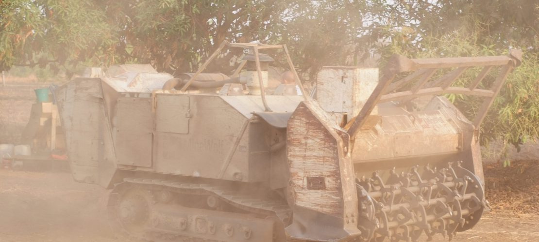 Project in South Sudan - NGO - Mechanical demining - MW240